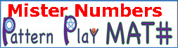 Pattern Play Math MisterNumbers logo