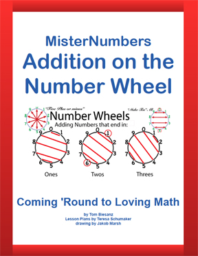 Mister Numbers Addition on a Number Wheel